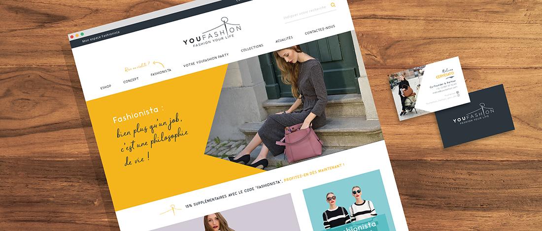 YouFashion, un réseau de distribution cross-canal au service de la marque Melina C