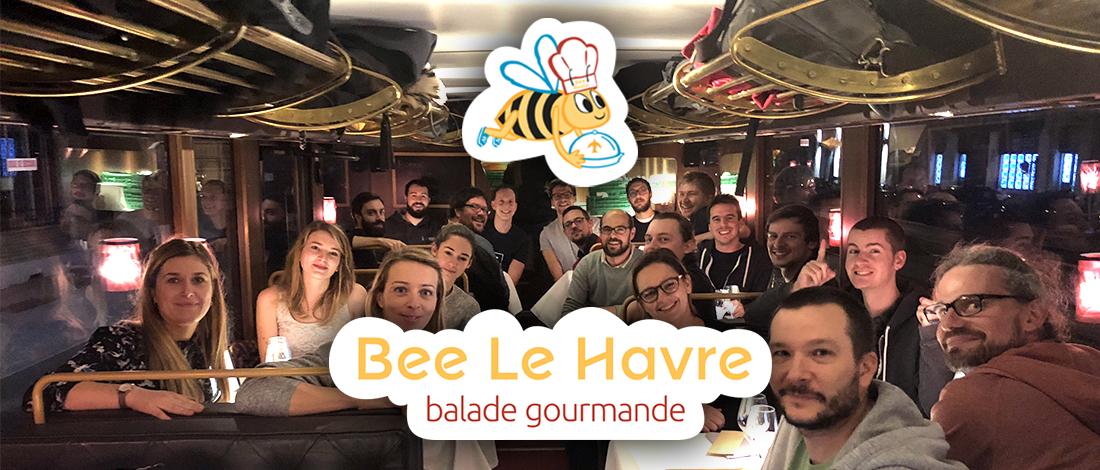 Soirée de Noël : on a testé et approuvé Bee Le Havre Resto Tour en avant-première !