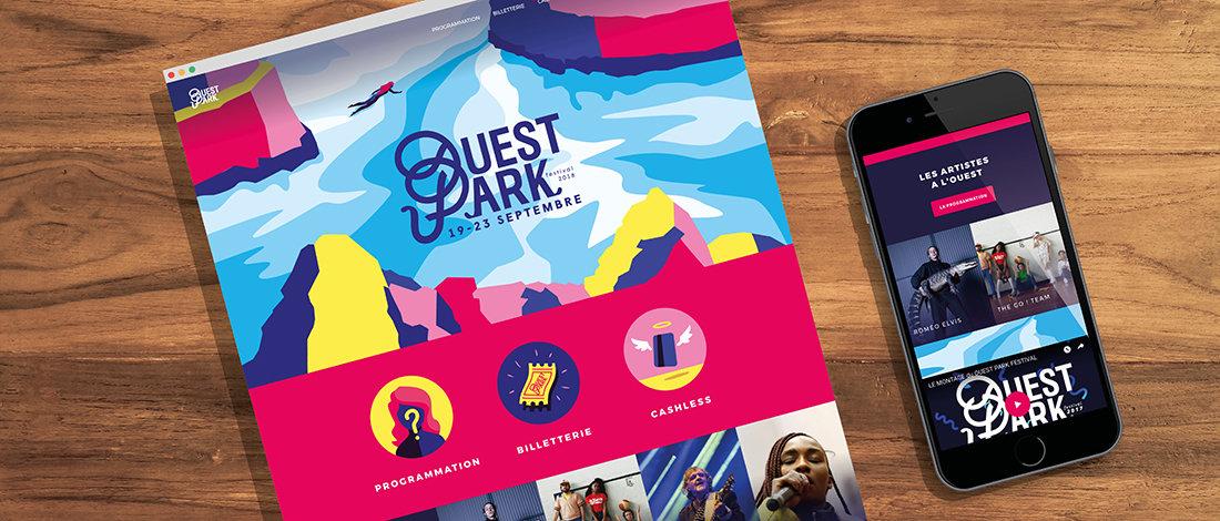 Un nouveau souffle pour l'image digitale du Ouest Park Festival