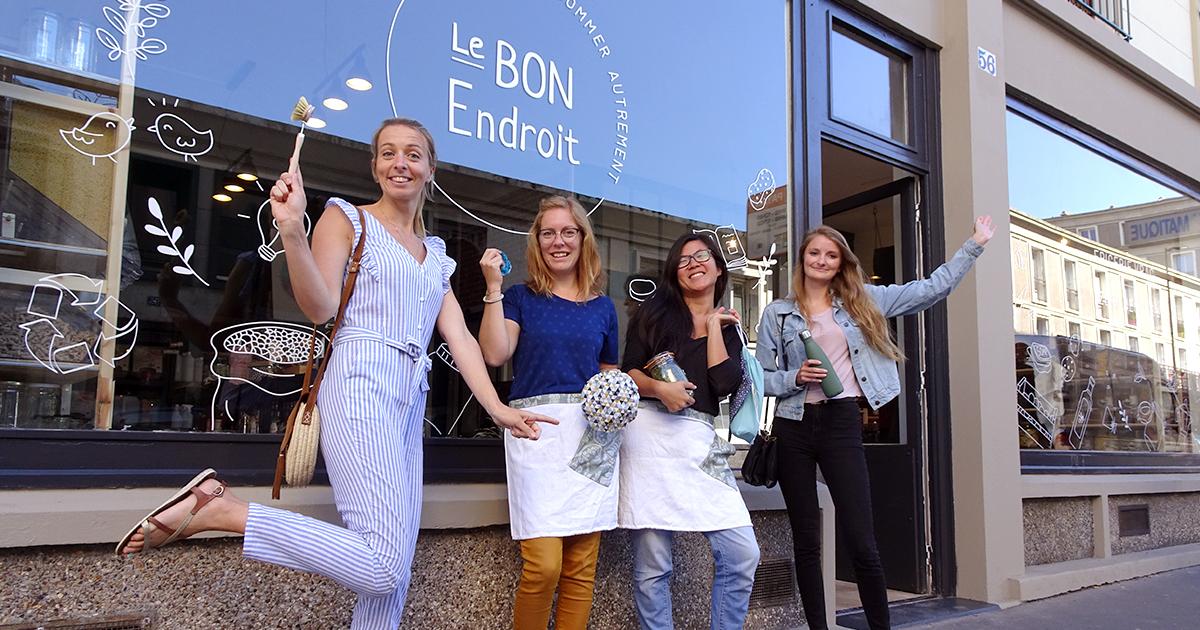 Le Bon Endroit,  the place to be du vrac havrais !